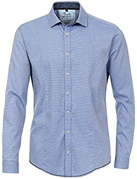 Venti Herren Freizeithemd 172680500 Easy Care 100% Baumwolle - Slim Fit