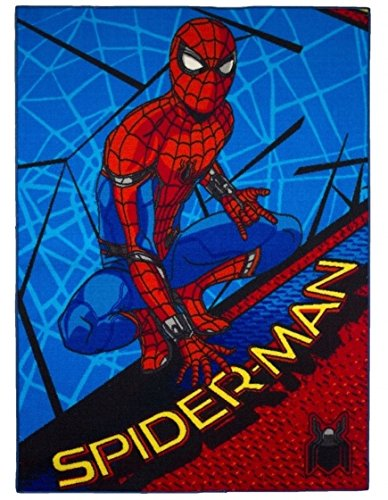 Spider-Man Gel de espuma de pared Crawler – Alfombra 095 x 133 cms – lavable