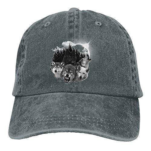 Puerto Rico Flagge Plain Einstellbare Cowboy Cap Denim Hut für Frauen und Männer Asphalt Hot