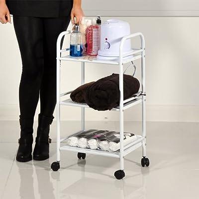 HEAVEN® Beauty Salon 3 Shelf Mini Side Trolley Therapy Dentist Hairdresser