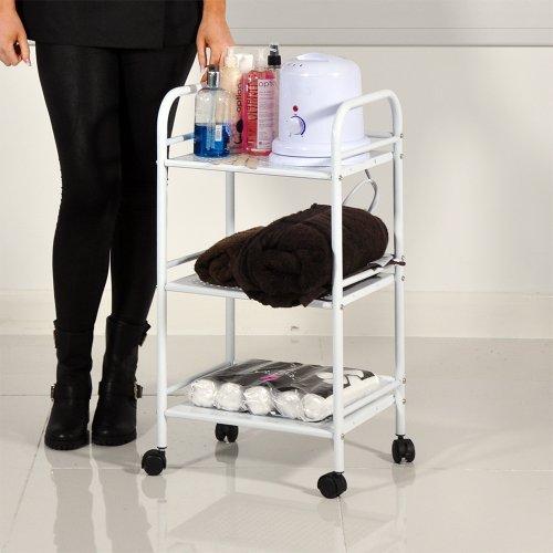 HEAVEN® Beauty Salon 3 Shelf Mini Side Trolley Therapy