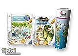 Ravensburger tiptoi  Bücher Set | Entdecke Den Zoo + Expedition Wissen: Dinosaurier + Kinder Weltkarte - Länder, Tiere, Kontinente