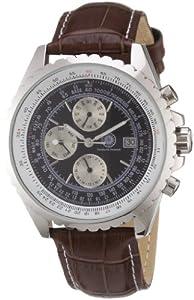 Reloj Constantin Durmont CD-CHES-AT-LT-STST-BKWH automático para hombre con correa de piel, color marrón de Constantin Durmont