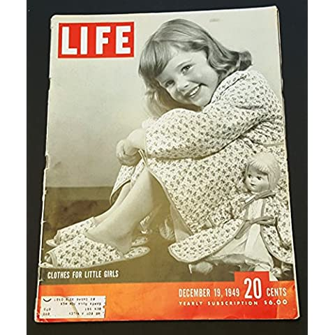 Life Magazine December 19, 1949 -- Cover: Clothes for Little Girls