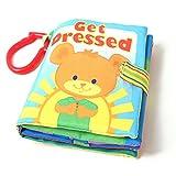 Sonnena Baby Bücher, Weich Stoffbuch Puzzlebuch Tierbuch Grizzlybaby Buch Lerne Bilderbuch Buch kinderbuch Urlaub Lernspielzeug Baby Geschenke für Baby ab 0-2 Jahre (Grizzlybaby)