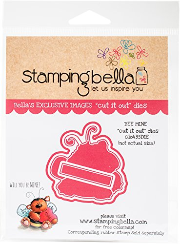 Stamping Bella Cut It Out dies-bee Mine -