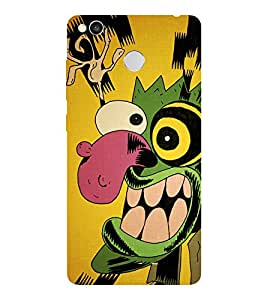 XIAOMI REDMI 4 2017 COURAGE SMILE PRINTED BACK CASE COVER by SHAIVYA