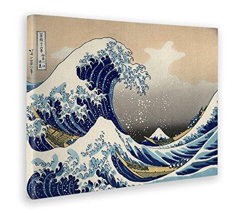 fa5e720fe17949 Giallo Bus - Cuadro - Impresion En Lienzo - Hokusai - The Great Wave Of  Kanagawa