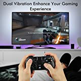 MAD GIGA Mando PS3 Wireless, Gamepad Inalámbrico Mando Controller, Mando PC Wireless Juego Inalámbrico para PS3, Android, Tableta, Decodificador, Smart TV, Windows, iCade Rango hasta 10M
