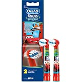 Braun Oral-B cabezales Stages Power Kids Cars Pack de 2 cabezas de...
