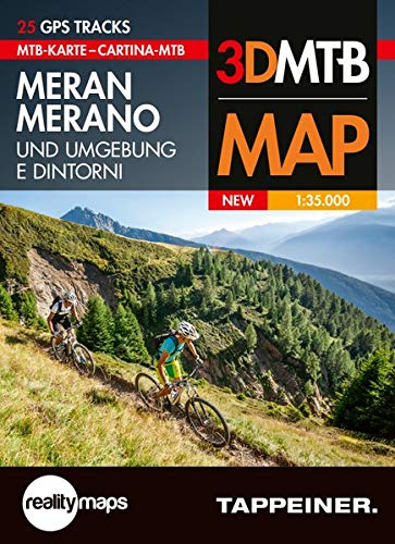 Moutainbike-Karte Meran und Umgebung: Cartina Mountainbike Merano e Dintorni (Mountainbike-Karten)