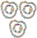 alex sweet Süßigkeiten Set Halskette und süße Uhr Retro Candy Mitgebsel Kindergeburtstag