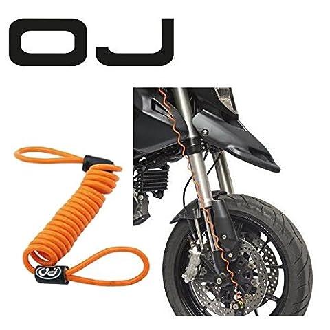 Attache de sécurité pour antivol roue Bloque-disque OJ pour Harley-Davidson V Rod