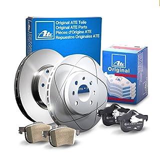 ATE P-A-02-00213 Bremsen Set 2 Bremsscheiben Hinten Ø 245 Voll + Bremsbeläge (Hinten)