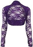 Fashion Boutique Boléro en dentelle pour femme Taille unique