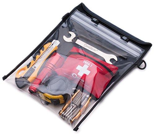 Aqua Quest i-Beutel - 100% Wasserdichte Vielzweck-Tasche - iPad / Tablet-Hülle - Grau (9 Zoll Tablet Tasche Für Mädchen)