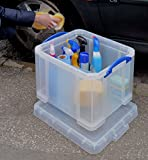 Really Useful Box 35 Litre Office/General Storage - Clear
