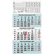 Kalender 2019 Zettler Monats-Terminkalender 989-0015 Kalender