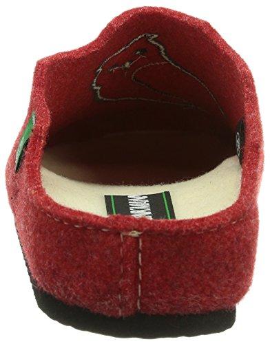 Dr. Brinkmann - 320370, Pantofole da donna Rosso (Rosso (Rosso))