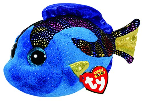 Beanie Boo Fish - Aqua - Blue - 15cm