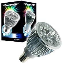 Connection N&C Retto E14 5W - Lámpara LED (Cool white, Plata, Transparente)