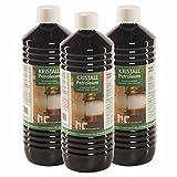Höfer Chemie 6 x 1 L gereinigtes Petroleum Heizöl - zum Heizen für Campingheizung, Petroleumofen, Petroleum Laterne, Starklichtlampe UVM.
