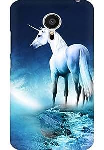 AMEZ designer printed 3d premium high quality back case cover for MEIZU MX5 (unicorn.JPG)