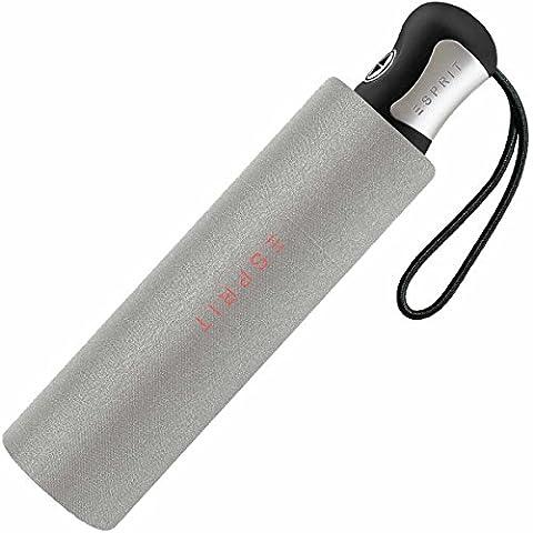 Esprit Easymatic Mini-parapluie 4 sections, léger, ouverture automatique