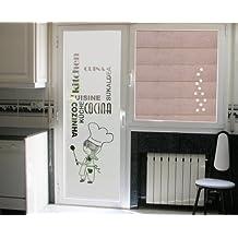 Vinilos decorativos para puertas de cristal - Vinilos decorativos cristal ducha ...