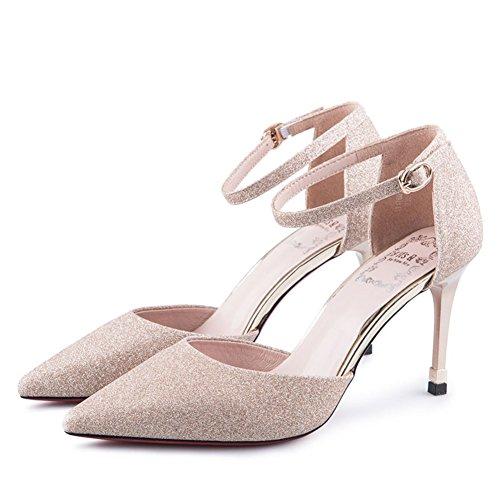 Automne, Destiné, Chaussures Pour Femmes / Talons Minces, Asakuchi, Chaussures Nues B