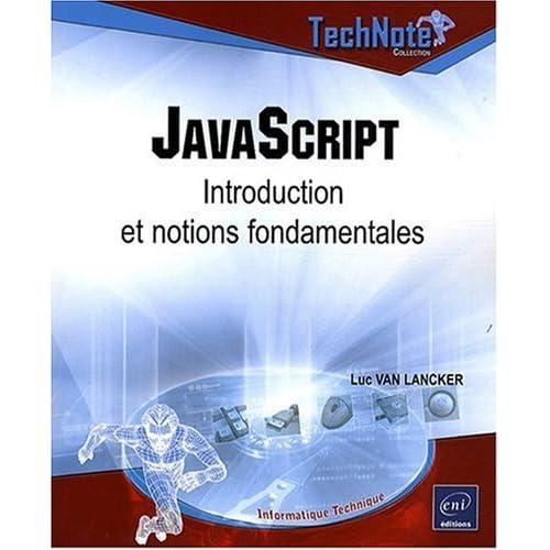 JavaScript - Introduction et notions fondamentales