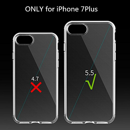 iPhone 7 Plus Hülle,iPhone 7 Plus Case Cover,Sunroyal iPhone 7 Plus Transparent Sparklers Hülle TPU Case Schutzhülle Silikon Crystal Case Durchsichtig,Silber Glänzend Glitzer Kristall Luxus Bling Star Pattern 15