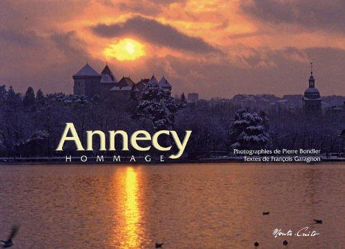Annecy Hommage : Edition bilingue français-anglais