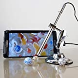 USB Mikroskope,Teslong Android Handheld USB Digital Mikroskop 200 facher Vergrößerung IP67 Wasserdichte Inspektionskamera mit , 6 LEDs, Unterstützung Android OTG Smartphone PC