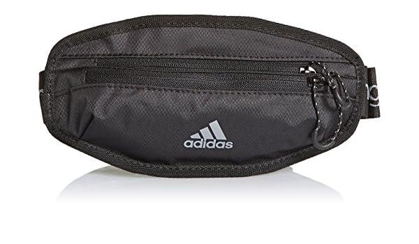 c800339aa52a adidas Run Bum Waist Bag - Black Silver Grey