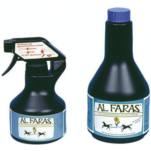 AL FARAS Insekten - Abwehrspray - 500 ml - ohne Sprühkopf - Chrysanthemen-Blüten-Extrakt