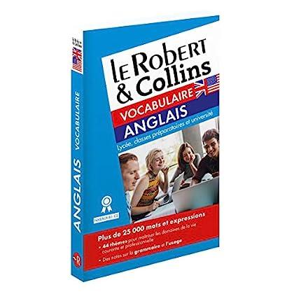Le Robert & Collins - Vocabulaire Anglais - Nouvelle Édition