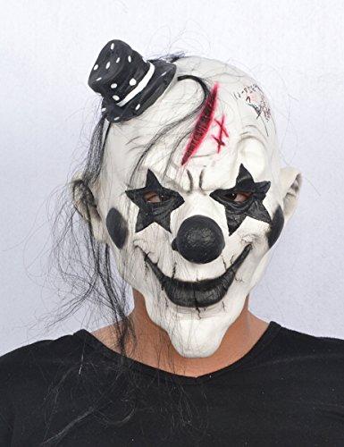 Clown Maske Für Erwachsene (Böser Clown Halloween Maske für Erwachsene)