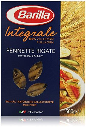 Barilla Pasta Nudeln Pennette Rigate Integrale Vollkorn, 500 g
