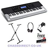 Best Casio Music Stands - Casio CTK-4400 Deluxe Bundle With Foldable X-Keyboard St Review