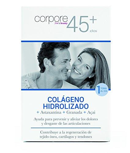Corpore+45 Sobres de Colágeno Hidrolizado - 15 Unidades