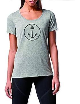 VIENTO Anchor Logo Camiseta Para Mujer
