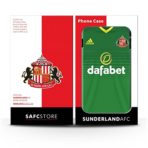 Officiel Sunderland AFC Coque / Clipser Matte Etui pour Apple iPhone 4/4S / Pack 24pcs Design / SAFC Maillot Extérieur 15/16 Collection Pack 24pcs