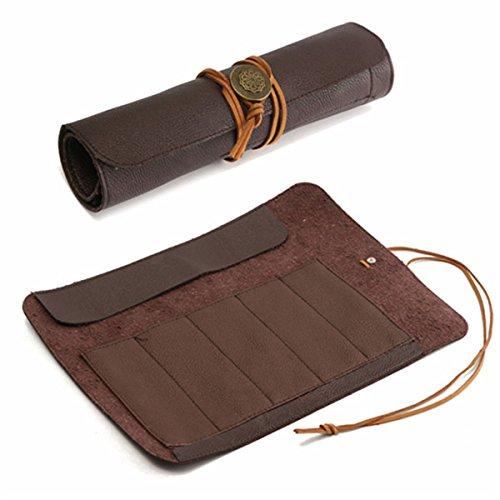 Preisvergleich Produktbild Farway PU Leder stone Carving Meißel Werkzeug Rolle Beutel Tasche für einfaches tragen und Aufbewahren