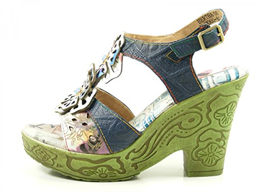 Sandali Laura Vita Ladies Bertha 08 Blu