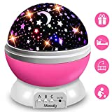 XFH LED Baby Night Lights Projector Stars Lighting Lamp for Children Kids Romantic