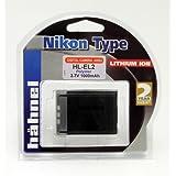 Hahnel Batterie Li-Ion Equivalente Nikon EN-EL2- 3,7 V 1000 mAh