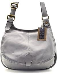 OH MY BAG Sac à main bandoulière porté de travers CUIR souple femme Modèle M Nouvelle collection - SPECIAL NOEL