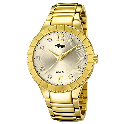Lotus Trendy 18411/2 Wristwatch for women With Zircons