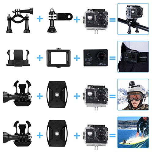 fhd 1080p action cam wifi unterwasserkamera digital. Black Bedroom Furniture Sets. Home Design Ideas